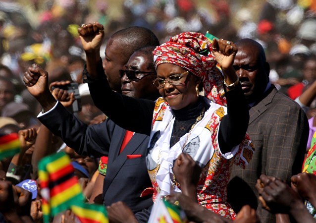 Zimbabwe First Lady'si Grace Mugabe