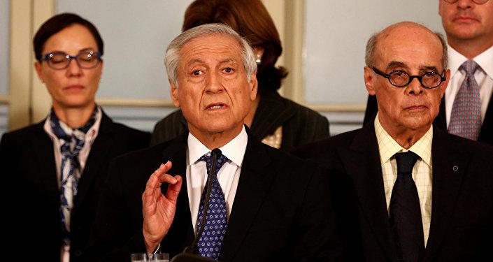 Şili Dışişleri Bakanı Heraldo Munoz