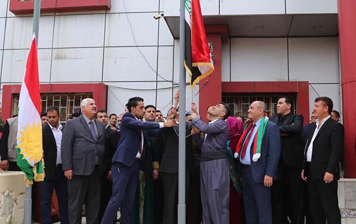 Kerkük İl Meclisi Başkanı Talabani IKBY bayrağını indirmeyeceğiz