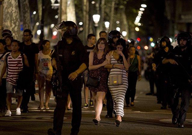Barcelona'daki terör saldırısı