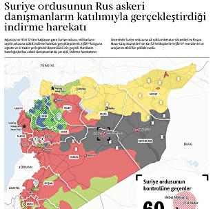 Suriye ordusundan IŞİD'e karşı indirme harekatı