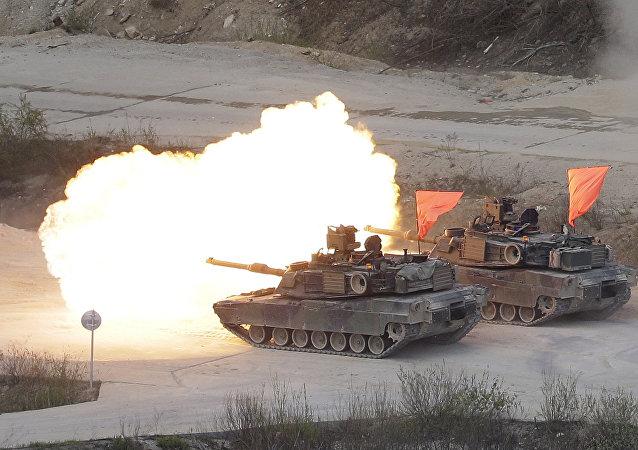 ABD-Güney Kore ortak askeri tatbikat