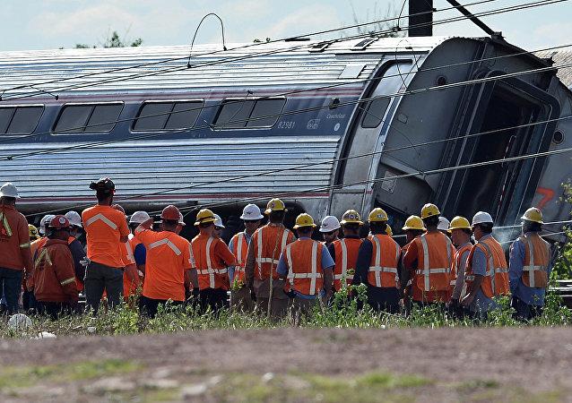 Philadelphia tren kazası 2017