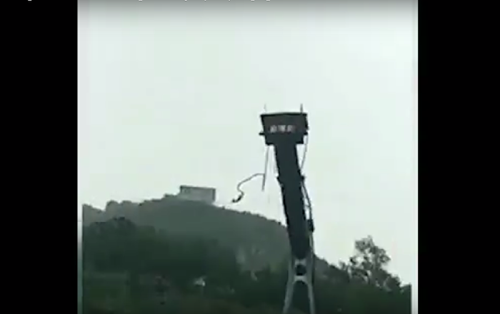Bungee jumping videohaber