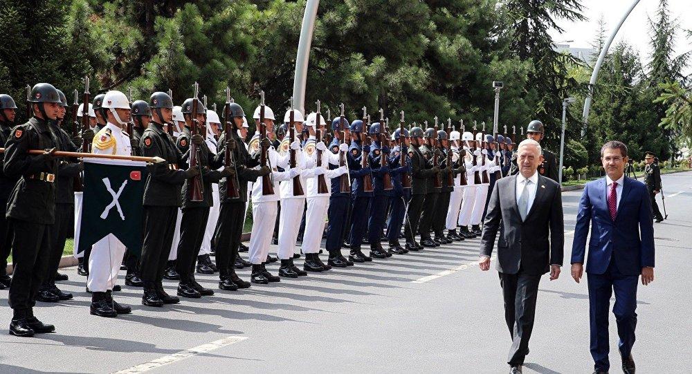 ABD Savunma Bakanı James Mattis, Milli Savunma Bakanı Nurettin Canikli