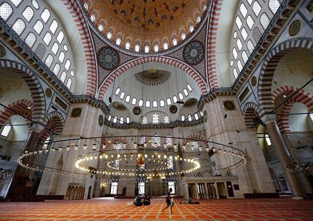 Süleymaniye Camii - cami - Müslüman - İslam