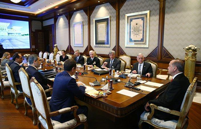 ABD Savunma Bakanı James Mattis, Ankara'da