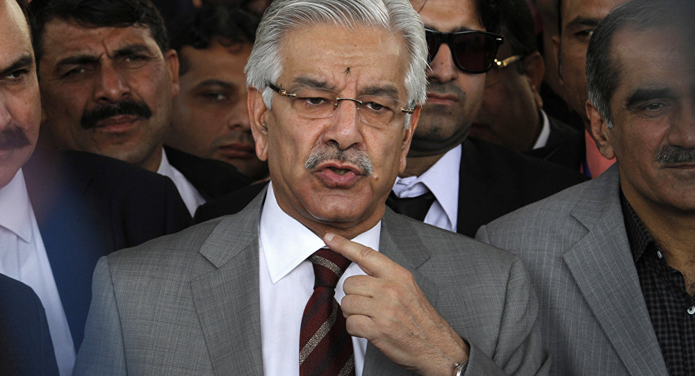 Pakistan Dışişleri Bakanı Khawaja Asıf