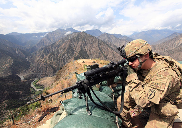 Afganistan'da ABD askeri
