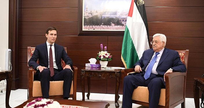 Filistin Devlet Başkanı Mahmud Abbas, Jared Corey Kushner