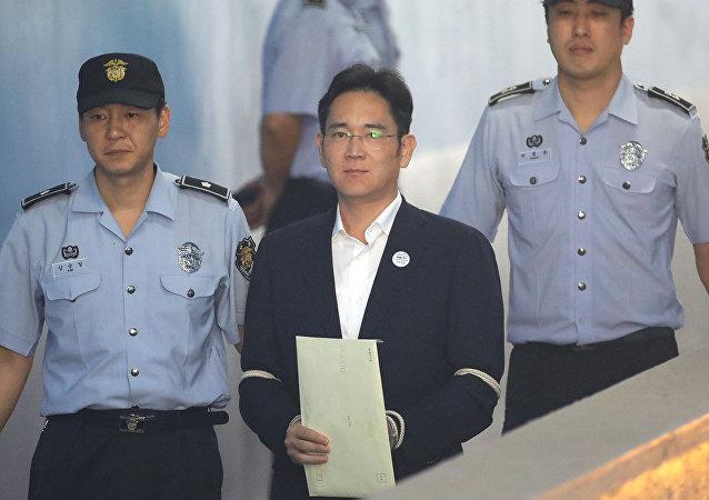 Samsung'un Başkan Yardımcısı ve veliahtı Lee Jae-yong