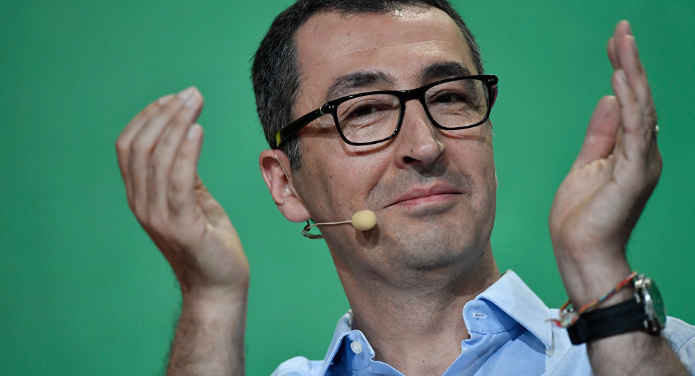 Yeşiller Partisi Eş Başkanı Cem Özdemir