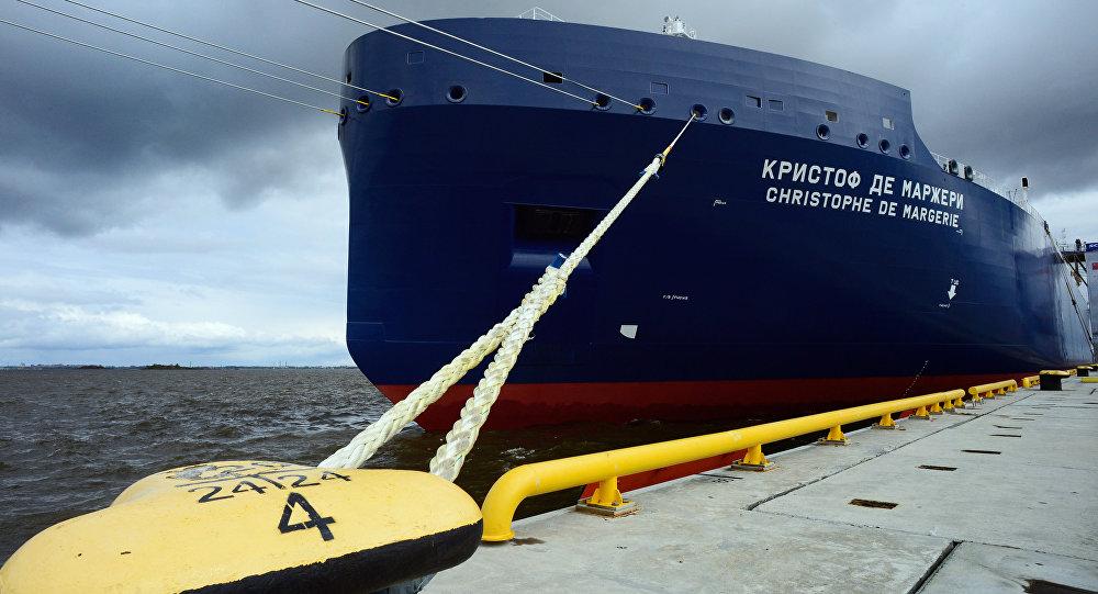Christophe de Margerie Rus ticaret gemisi