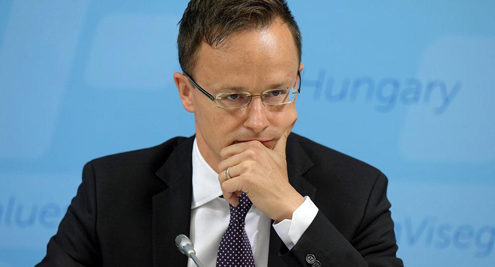 Macaristan Dışişleri Bakanı Péter Szijjarto