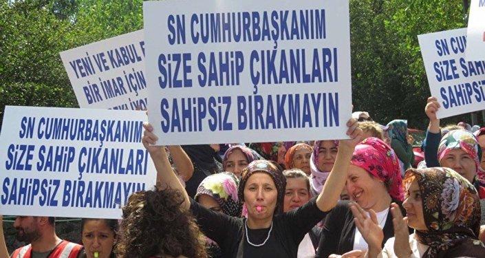 Üsküdar kentsel dönüşüm protestosu