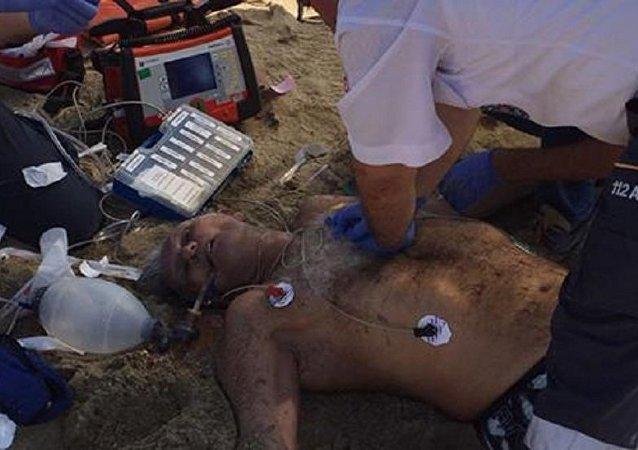 Rus turist Alanya'da boğuldu