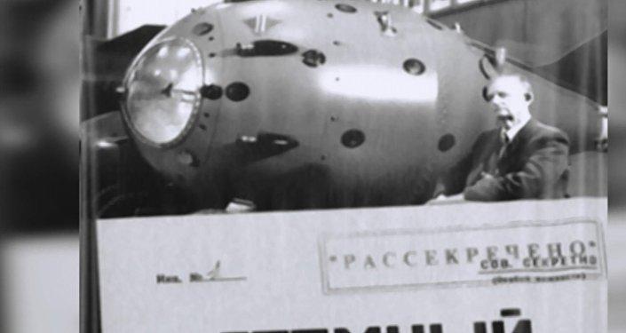 SSCB'nin ilk nükleer bomba denemesi böyle görüntülendi