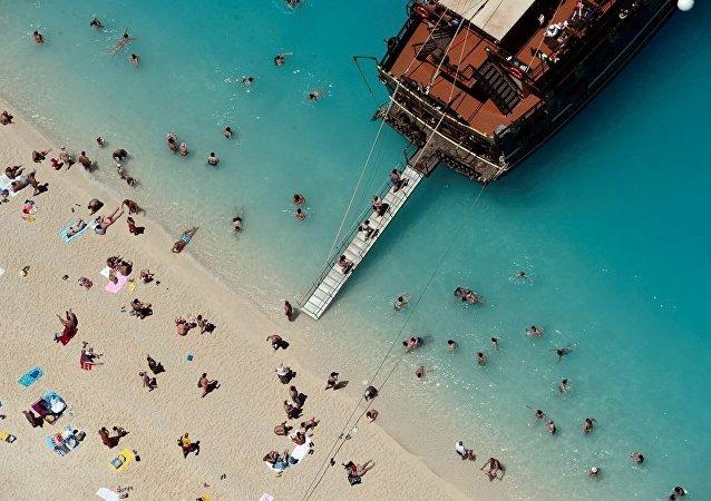 Yunan adası - tatil