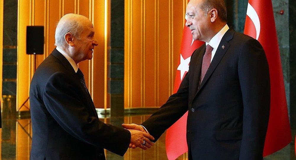 Cumhurbaşkanı Recep Tayyip Erdoğan- MHP Genel Başkanı Devlet Bahçeli