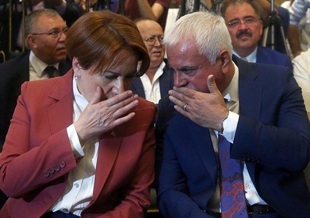 Eski MHP Milletvekili Koray Aydın- Meral Akşener