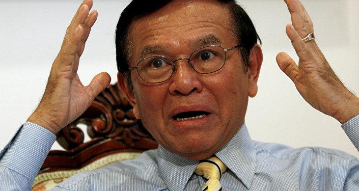 Kamboçya Ulusal Kurtuluş Partisi lideri Kem Sokha