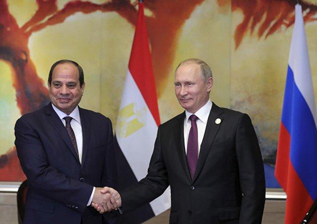Putin ve Sisi