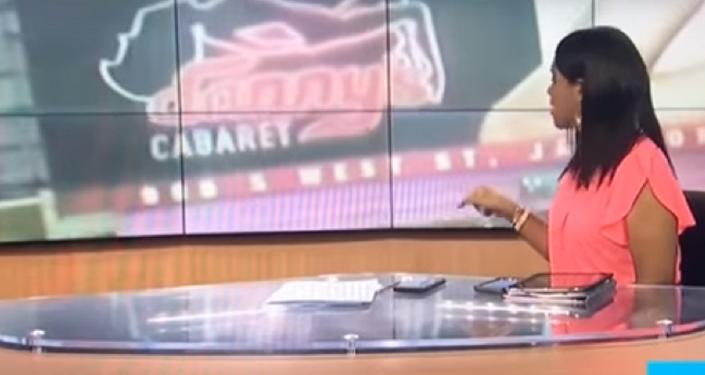 TV operatörü canlı yayında bir striptiz kulübüne 'odaklandı'