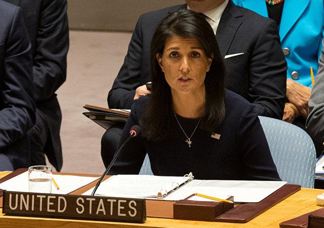 ABD'nin Birleşmiş Milletler Daimi Temsilcisi Nikki Haley