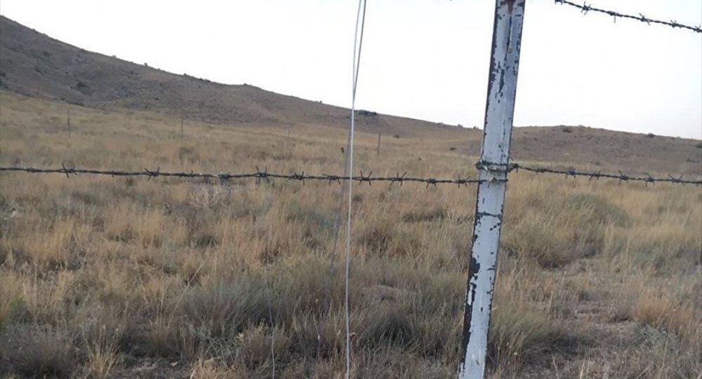Türkiye-İran sınırına çekilen kablo