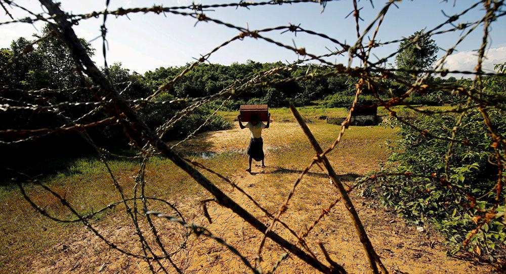 Myanmar-Bangladeş sınırı