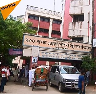 Arakanlı Müslümanların sığındıkları Bangladeş'ten görüntüler