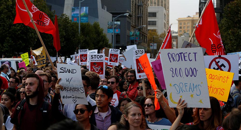 DACA - protesto
