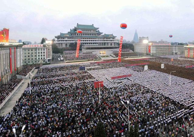 Kuzey Kore'de hidrojen bombası denemesi kutlamaları