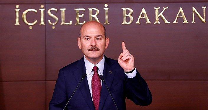 İçişleri Bakanı Süleyman Süleyman Soylu