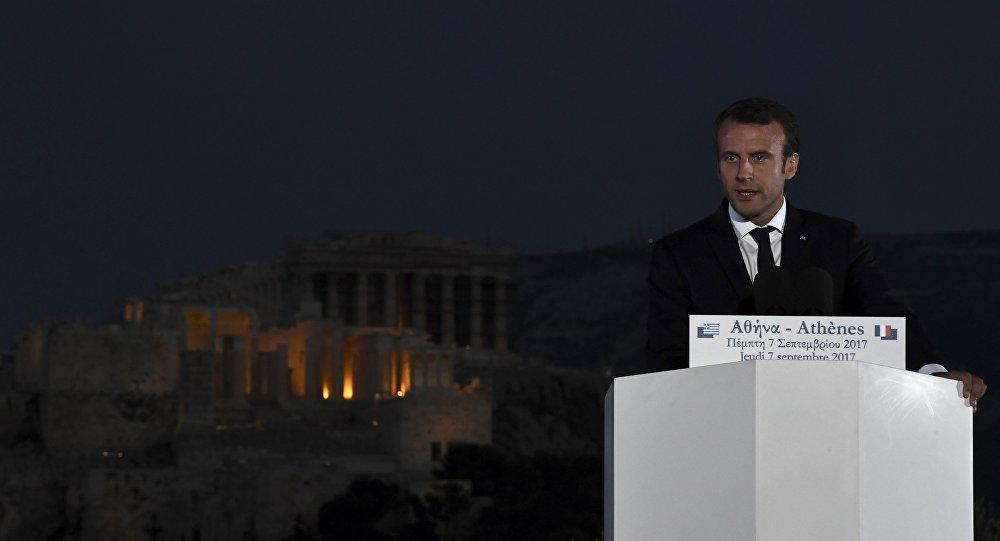 Fransa Cumhubaşkanı Emmanuel Macron
