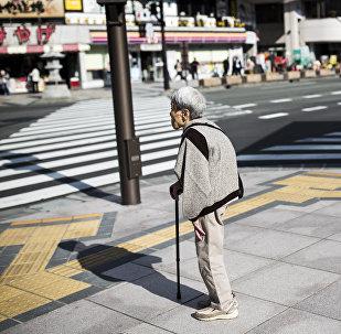 Yaşlı Japon