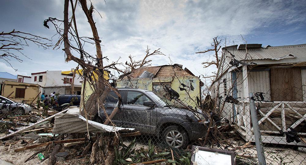 Irma Kasırgası-St. Martin adası