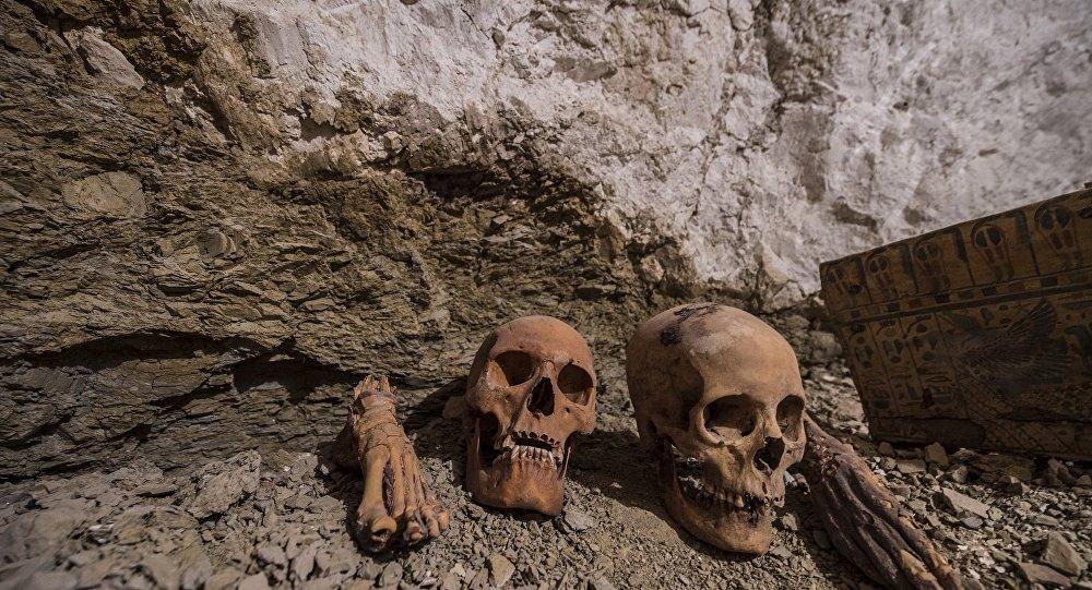 Mısır'da 3500 yıllık mezar keşfedildi