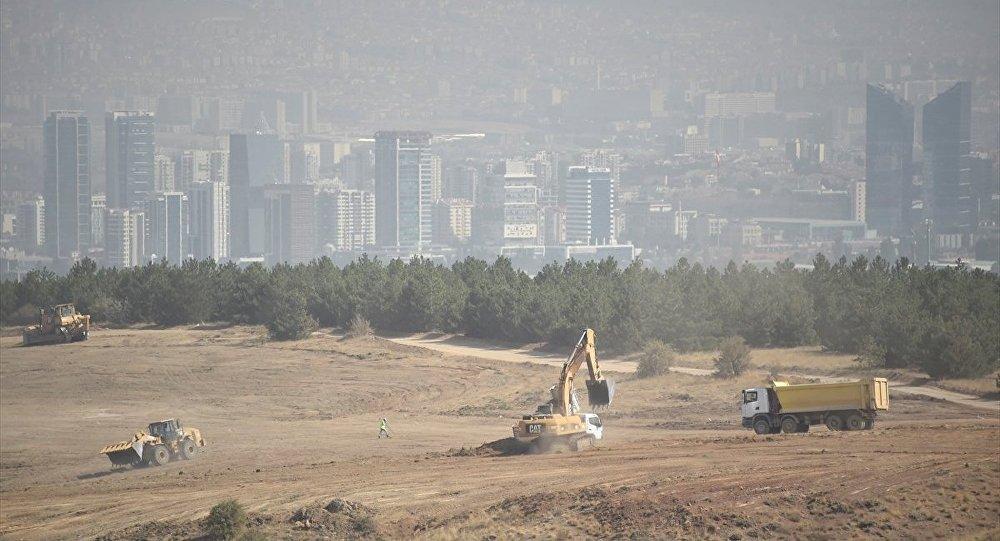ODTÜ arazisinde tünel yapım çalışmalarına başlandı