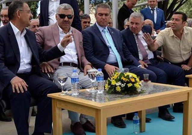 CHP Kayseri Milletvekili Çetin Arık ile Çevre ve Şehircilik Bakanı Mehmet Özhaseki arasında gerginlik