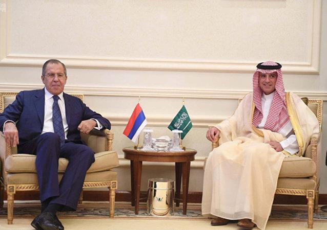 Rusya Dışişleri Bakanı Sergey Lavrov - Suudi Arabistan Dışişleri Bakanı Adil el Cubeyr
