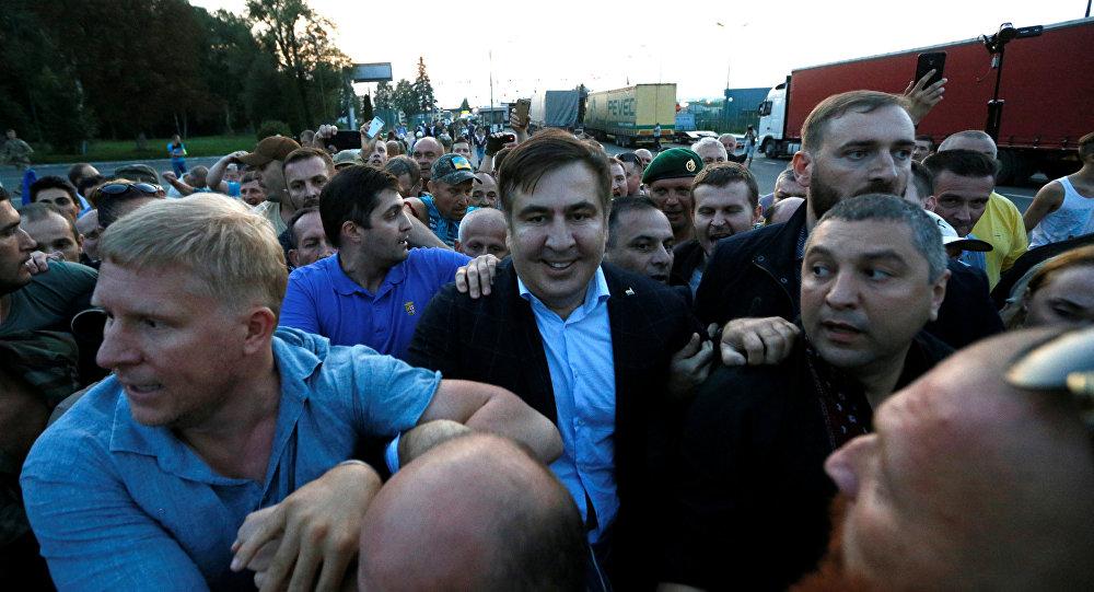 Gürcistan Devlet Başkanı ve Ukrayna'nın Odessa kentinin eski valisi Mihail Saakaşvili