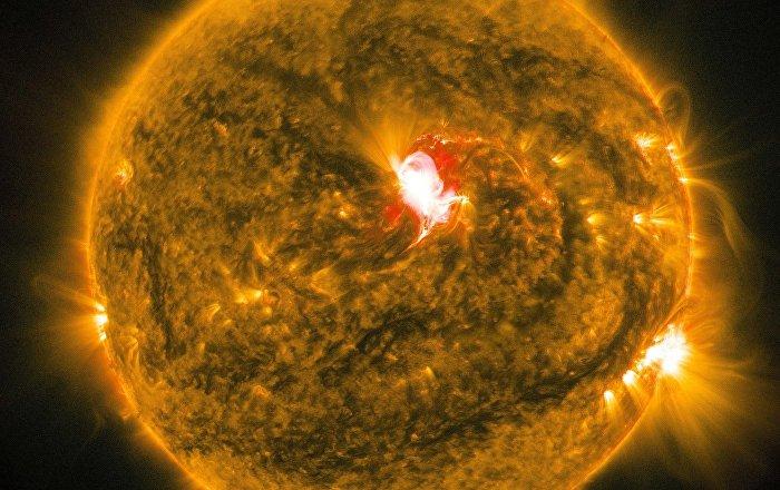 Güneşte çok büyük patlama