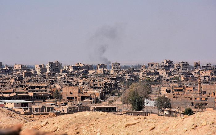 Suriye- Deyr ez Zor