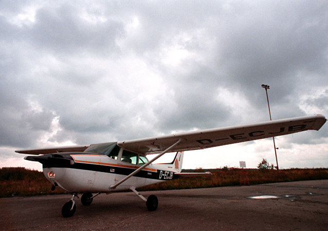 Cessna uçağı