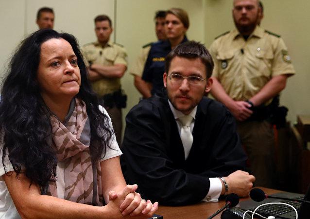 NSU davasının baş sanığı Beate Zschäpe