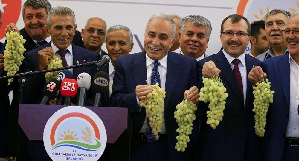 Gıda Tarım ve Hayvancılık Bakanı Ahmet Eşref Fakıbaba