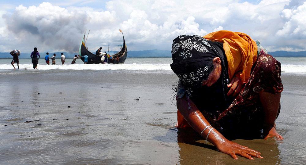 Bangladeş - Arakanlı sığınmacılar