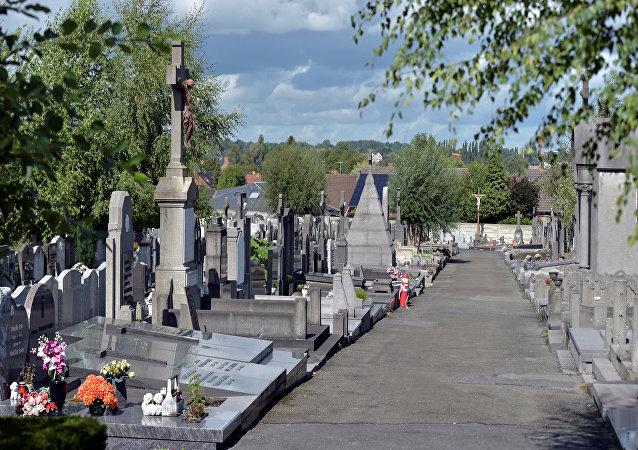 Belçika-Gadenne-Mezarlık