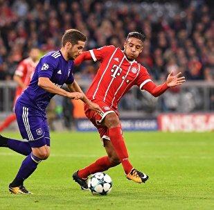 Bayern Munich ile RSC Anderlecht arasında oynanan Şampiyonlar Ligi grup maçı